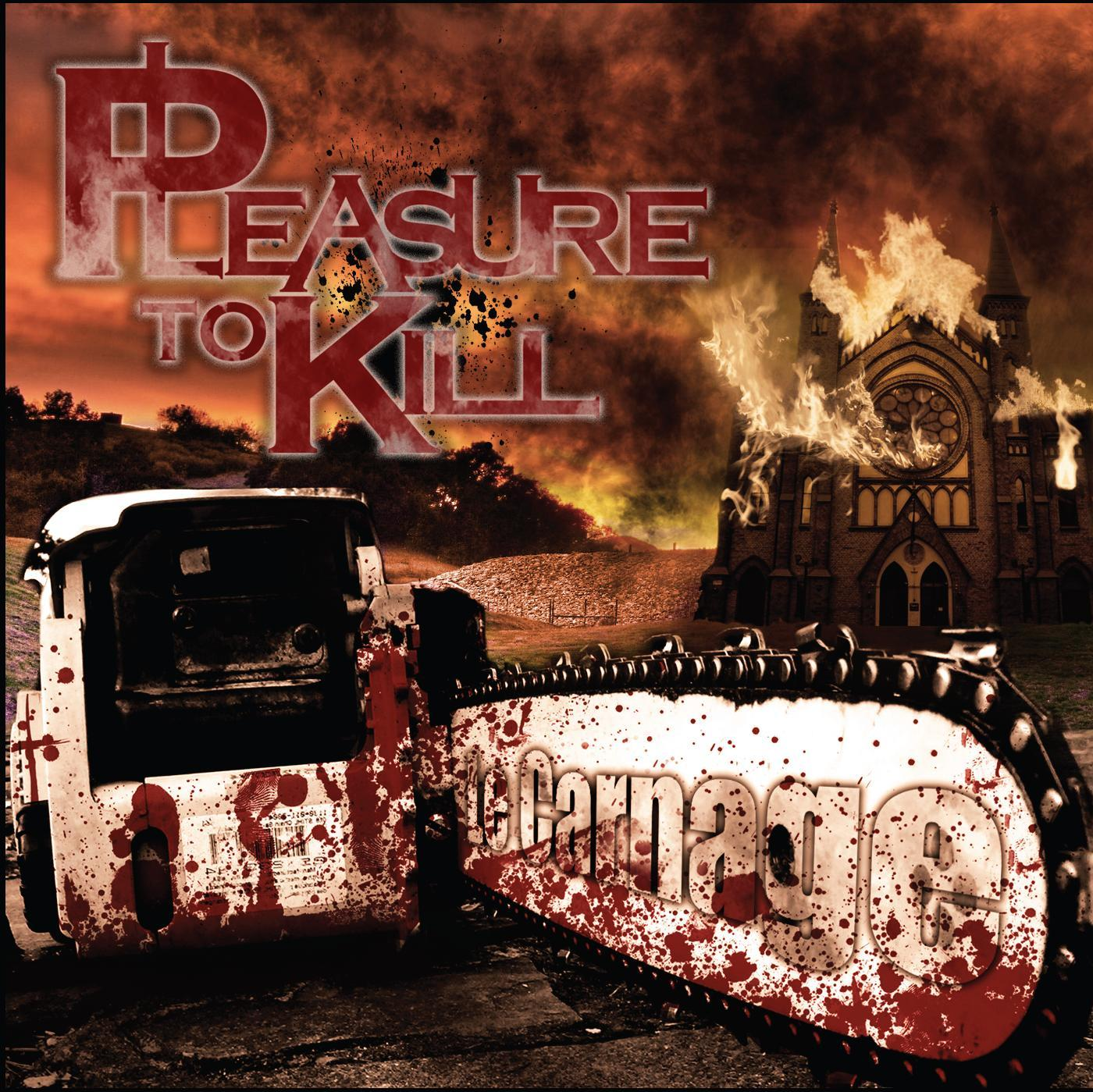 Front cover Le Carnage - Pleasure To Kill
