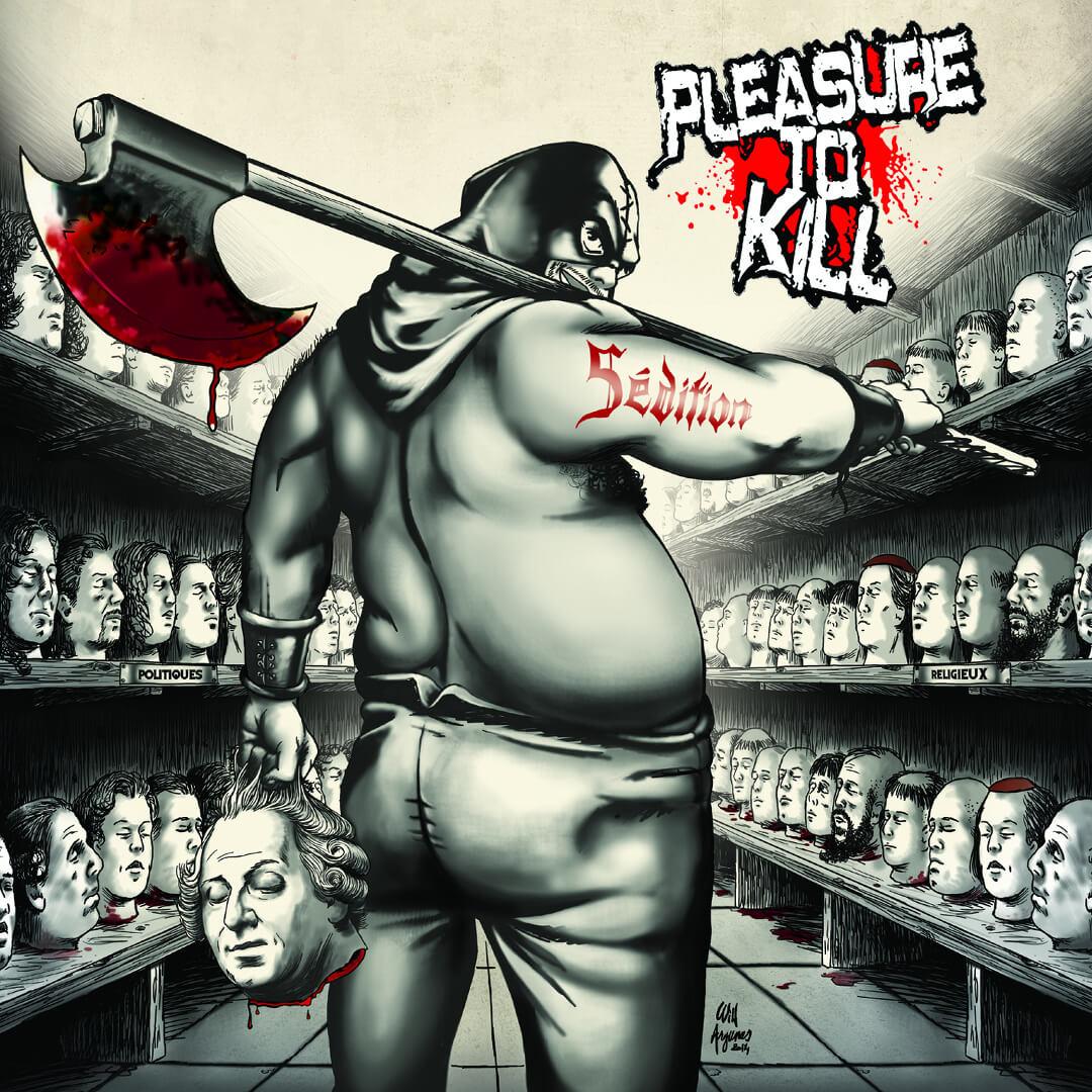Cover album Sedition - Pleasure To Kill