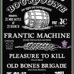 PTK+Frantic Machine+Old Bones Brigade a Scene Bourgogne a Orleans le 25 fevrier 2017